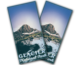 Glacier National Park Cornhole Wraps