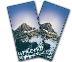 Glacier National Park Cornhole Wraps