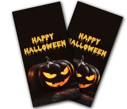 Happy Halloween Cornhole Wraps