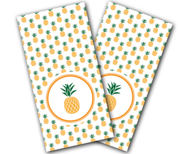 Pineapple Cornhole Wraps