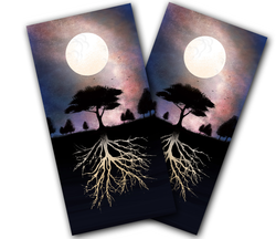 Nocturnal Roots Cornhole Wraps