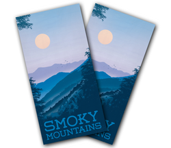 Smoky Mountain Cornhole Wraps