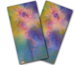 Star Dust Cornhole Wraps