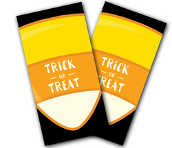 Trick or Treat Cornhole Wraps