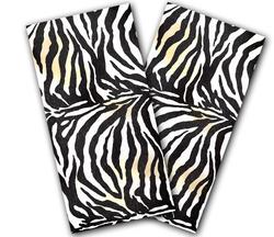 Zebra Cornhole Wraps