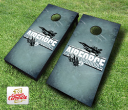 US Air Force Imprint Cornhole Set with Bags