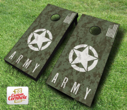 US Army Digital Camo Cornhole Set with Bags