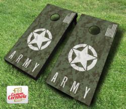 US Army Digital Camo Cornhole Set with Bags