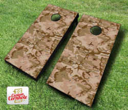 Desert Camo Cornhole Set with Bags