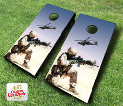 Desert Warfare Cornhole Set with Bags