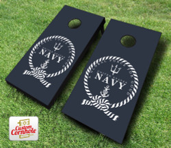 US Navy Global Force for Good Cornhole Set with Bags
