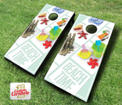 Beach Time Cornhole Set with Bags