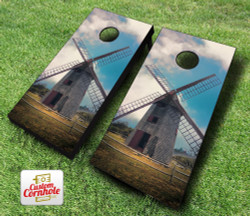 Nantucket Island Windmill Cornhole Set with Bags