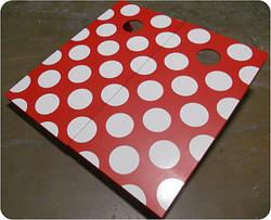 Polka Dot Cornhole Set with Bags