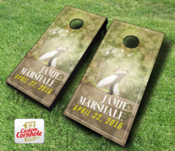 Wedding Dance Cornhole Set with Bags