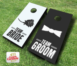 Wedding Shower Game Cornhole Set with Bags
