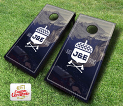 Wedding Memoir Cornhole Set with Bags