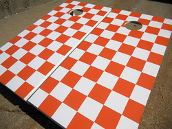 Checkerboard Cornhole Set with Bags