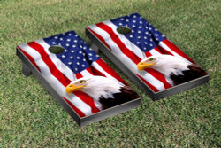 American Eagle USA Cornhole Set with Bags