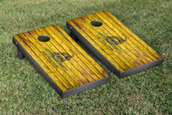Don't Tread On Me Flag Distressed Wood Cornhole Set with Bags