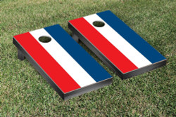 United States 3 Stripe Flag Cornhole Set with Bags