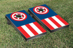 American Target Themed Cornhole Set with Bags