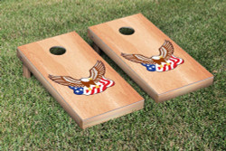 American Eagle Birch Wood Cornhole Set with Bags