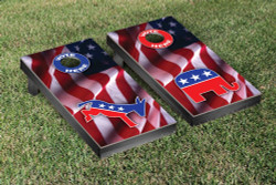 Mixed Political Cornhole Set with Bags