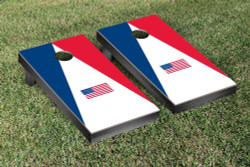 United States Flag Triangle Version Cornhole Set with Bags