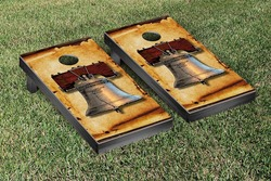 Liberty Bell Cornhole Set with Bags