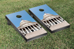 US Capitol Building Themed Cornhole Set with Bags