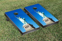 Statue Of Liberty Themed Cornhole Set with Bags