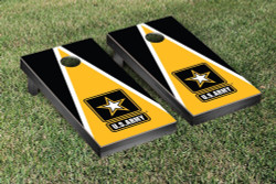 US Army Triangle Version Cornhole Set with Bags