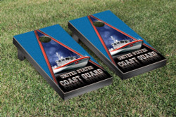 US Coast Guard PT Boat Cornhole Set with Bags
