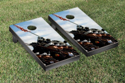 US Marines Marching Cornhole Set with Bags