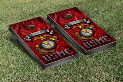 US Marines Semper Fidelis Cornhole Set with Bags