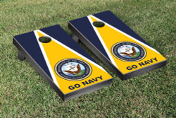 US Navy Go Navy Cornhole Set with Bags