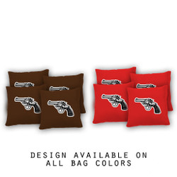 Revolver Cornhole Bags - Set of 8