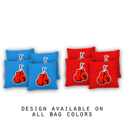 Boxing Cornhole Bags - Set of 8