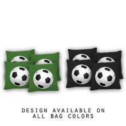 Soccer Cornhole Bags - Set of 8