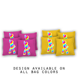 Dance Cornhole Bags - Set of 8
