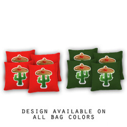 Fiesta Cornhole Bags - Set of 8