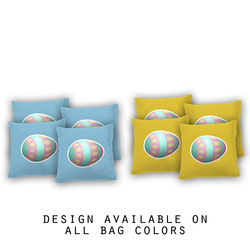 Easter Egg Cornhole Bags - Set of 8