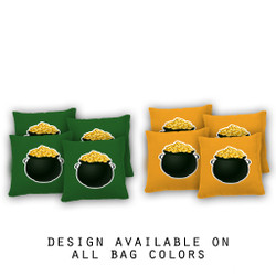 Pot of Gold Cornhole Bags - Set of 8