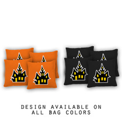 Haunted House Cornhole Bags - Set of 8