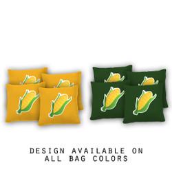 Corn on the Cob Cornhole Bags - Set of 8