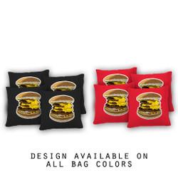 Dirty Burger Cornhole Bags - Set of 8