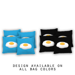Eggs Cornhole Bags - Set of 8