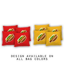 Hotdogs Cornhole Bags - Set of 8