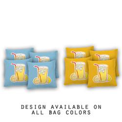 Lemonade Cornhole Bags - Set of 8